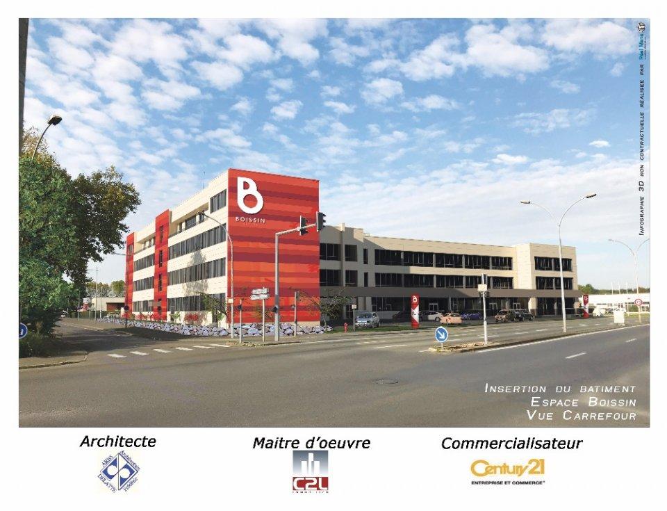 Bureaux à louer - 105.2 m2 - 72 - Sarthe
