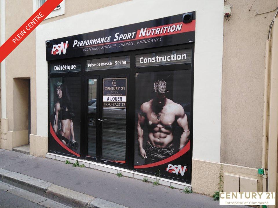 Local commercial à louer - 68.0 m2 - 72 - Sarthe