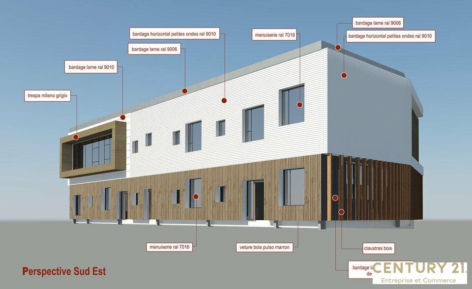 Bureaux à louer - 155.0 m2 - 72 - Sarthe