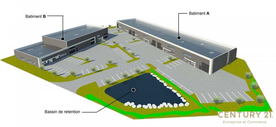Local d'activité à louer - 352.0 m2 - 72 - Sarthe