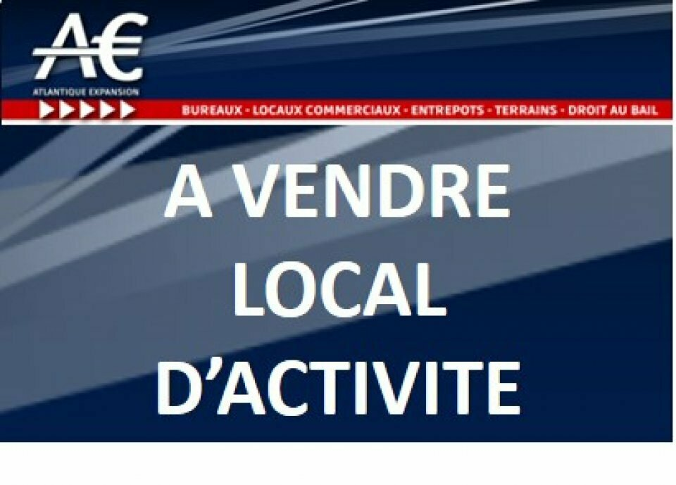 A VENDRE LOCAL D'ACTIVITE