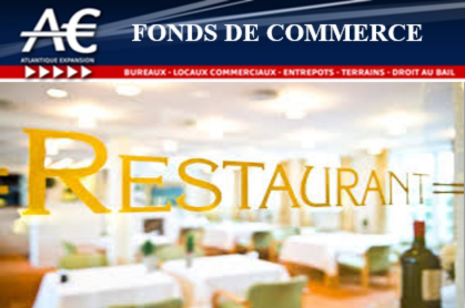 A VENDRE FONDS DE COMMERCE BAR RESTAURANT