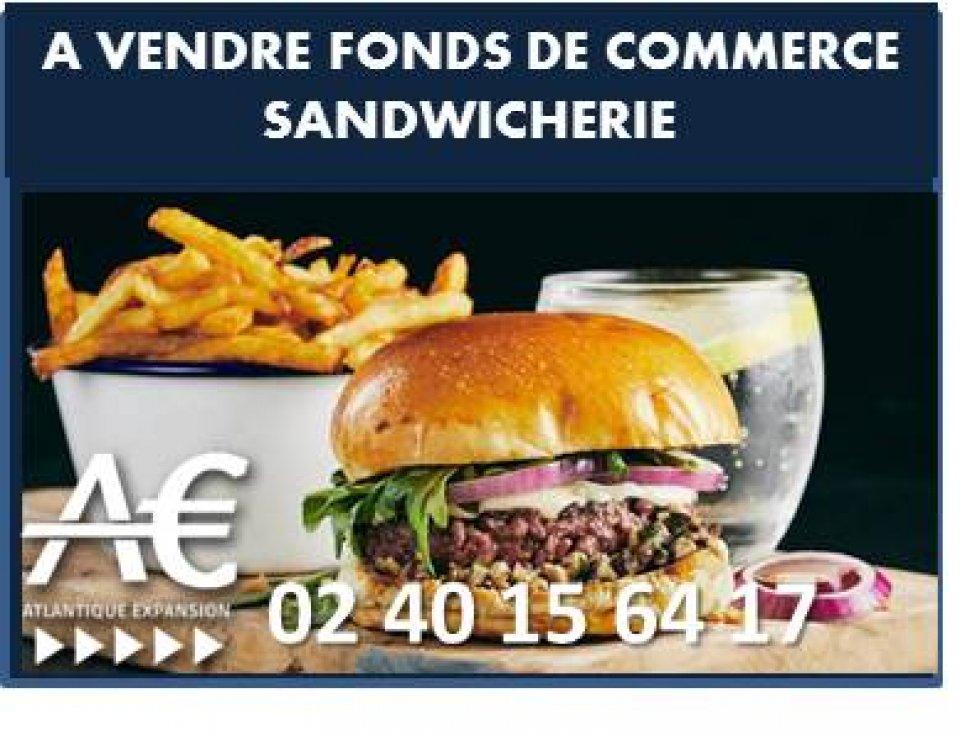 A VENDRE FONDS DE COMMERCE SANDWICHERIE - Bureau Local Entrepôt
