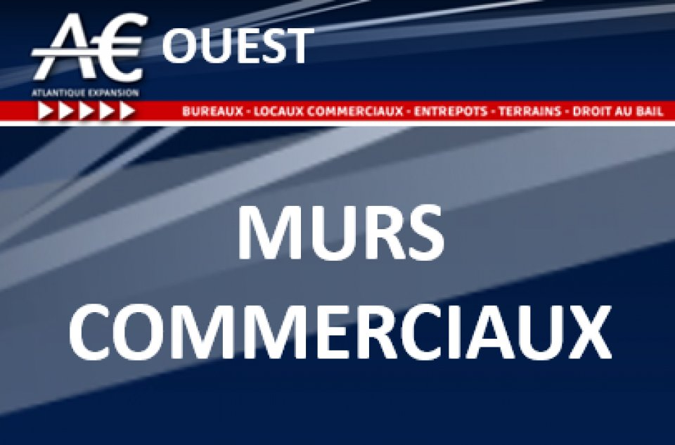 A VENDRE MURS COMMERCIAUX - Bureau Local Entrepôt