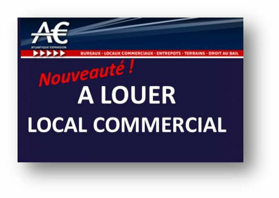 A LOUER local commercial Hyper centre Nantes