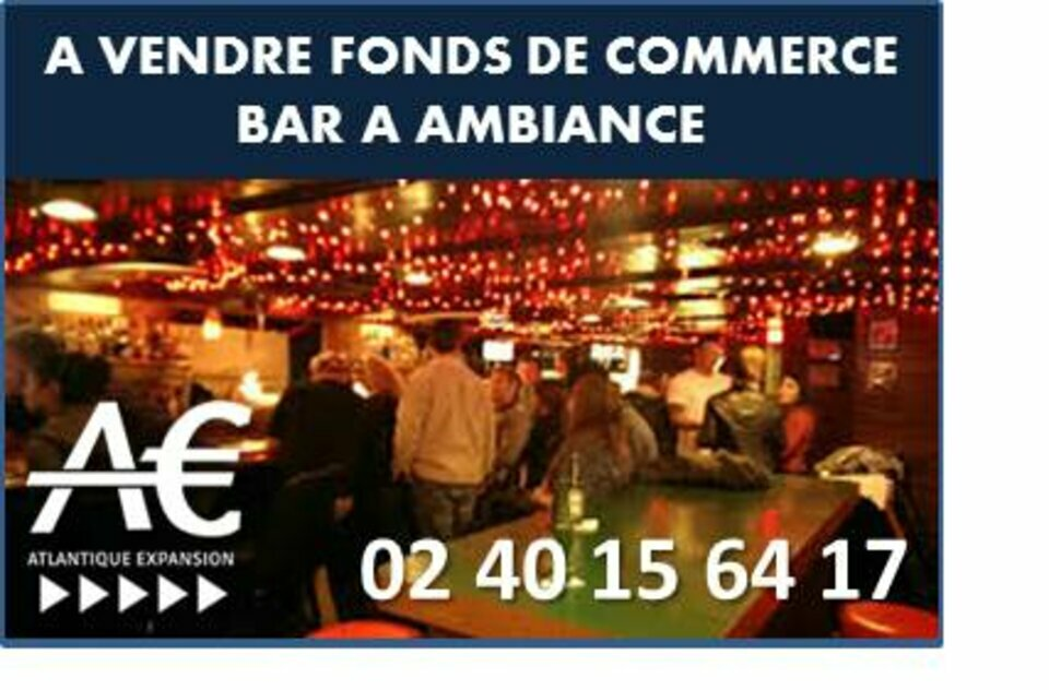 A VENDRE Fonds de commerce Bar Nantes centre ville