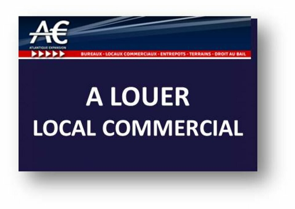 A LOUER LOCAL COMMERCIAL, EMPLACEMENT NUMERO 1