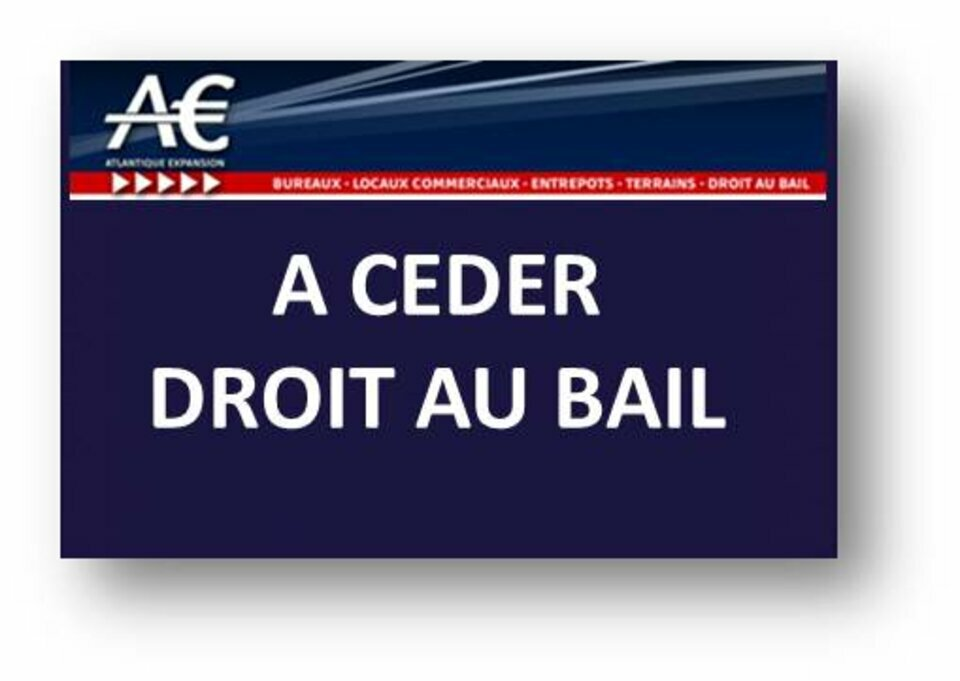 BAIL A CEDER LOCAL COMMERCIAL BEL EMPLACEMENT