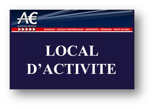 A LOUER LOCAL D'ACTIVITE SAINT NAZAIRE